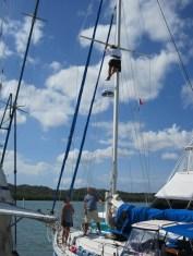 Up the Mast